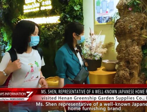A well-known Japanese home furnishing company visited GREENSHIP